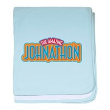 The Amazing Johnathon baby blanket