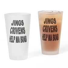 Jings Crivens Help Ma Boab Drinking Glass