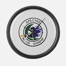 AC-130 Spectre Large Wall Clock