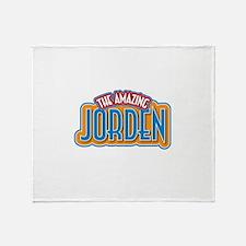The Amazing Jorden Throw Blanket