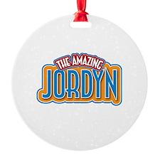 The Amazing Jordyn Ornament