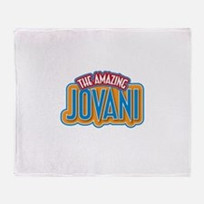 The Amazing Jovani Throw Blanket