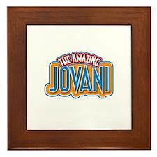 The Amazing Jovani Framed Tile