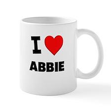 I Love Abbie Mug
