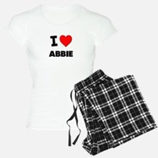 I Love Abbie Pajamas