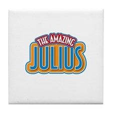 The Amazing Julius Tile Coaster