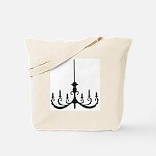 Simple Chandelier Tote Bag
