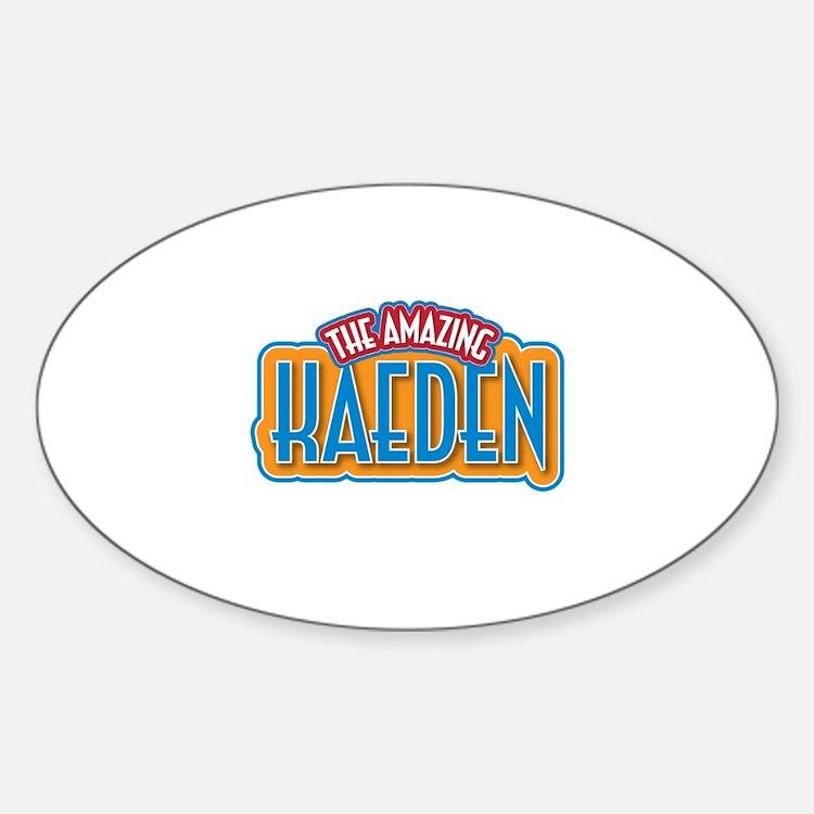 The Amazing Kaeden Decal