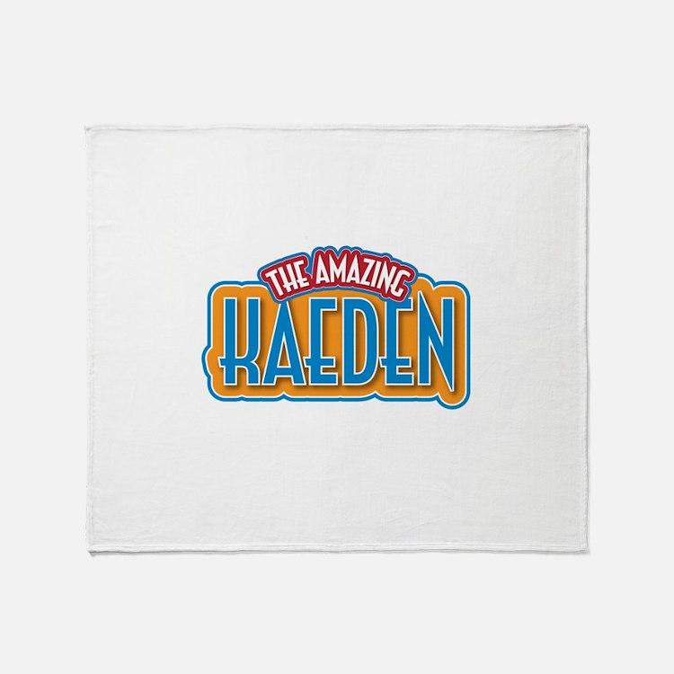 The Amazing Kaeden Throw Blanket