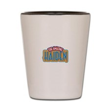 The Amazing Kaiden Shot Glass