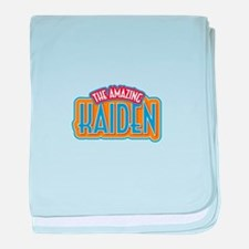 The Amazing Kaiden baby blanket