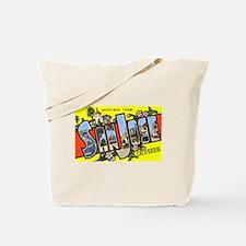 San Jose California Greetings Tote Bag