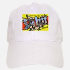 San Jose California Greetings Baseball Baseball Cap
