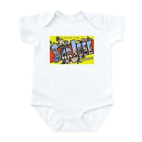 San Jose California Greetings Infant Bodysuit