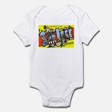 San Jose California Greetings Infant Bodysuit