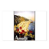 Amalfi vintage Postcards