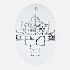 Andrea Palladio Villa Rotunda Oval Ornament