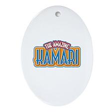 The Amazing Kamari Ornament (Oval)