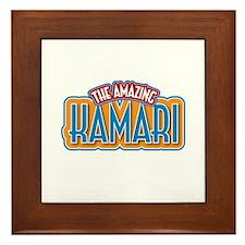 The Amazing Kamari Framed Tile