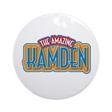 The Amazing Kamden Ornament (Round)