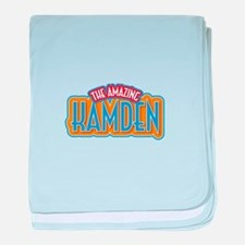 The Amazing Kamden baby blanket