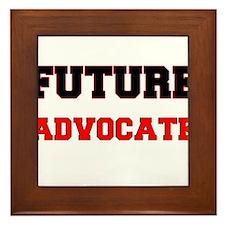 Future Advocate Framed Tile