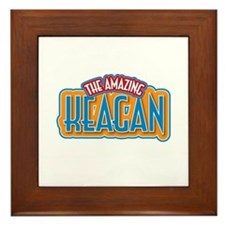 The Amazing Keagan Framed Tile