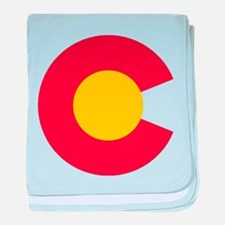Colorado C baby blanket