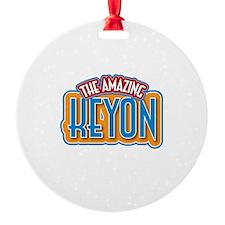 The Amazing Keyon Ornament