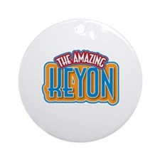 The Amazing Keyon Ornament (Round)