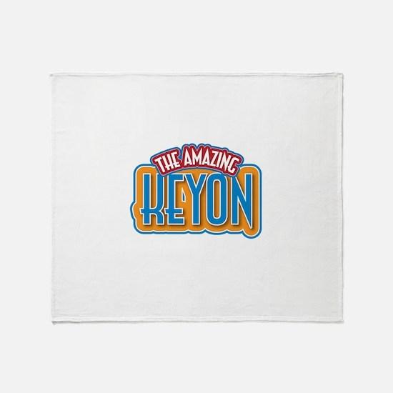 The Amazing Keyon Throw Blanket