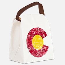 Aged Colorado C Canvas Lunch Bag
