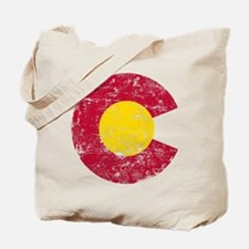 Aged Colorado C Tote Bag