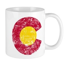 Aged Colorado C Mug