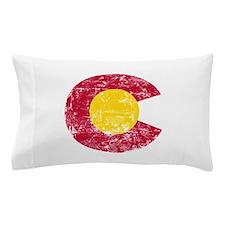 Aged Colorado C Pillow Case