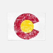 Aged Colorado C 5'x7'Area Rug