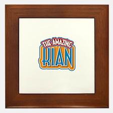 The Amazing Kian Framed Tile
