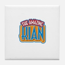 The Amazing Kian Tile Coaster