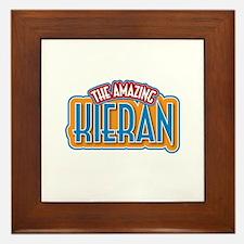 The Amazing Kieran Framed Tile