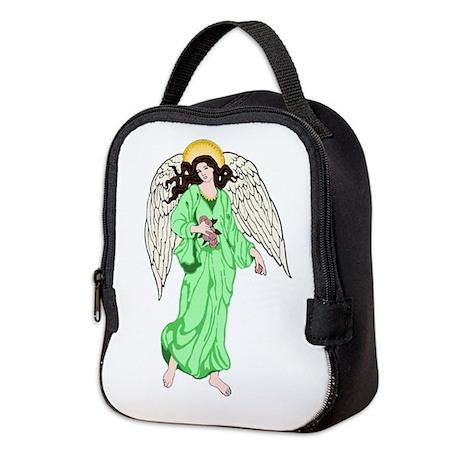 Angel Blue Neoprene Lunch Bag