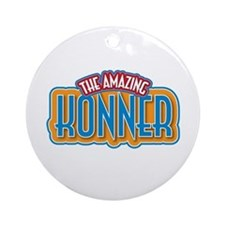 The Amazing Konner Ornament (Round)