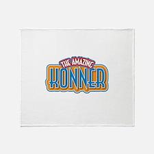 The Amazing Konner Throw Blanket