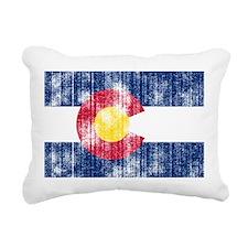Colorado.png Rectangular Canvas Pillow