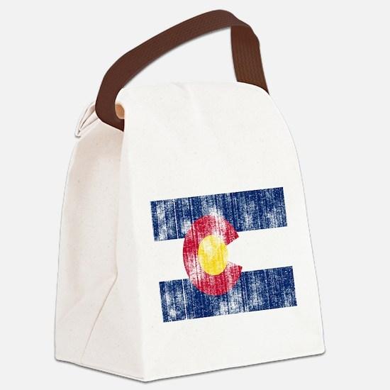 Colorado.png Canvas Lunch Bag