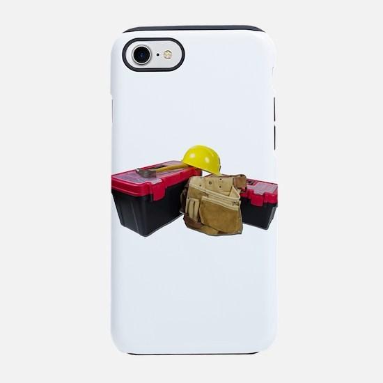 ToolboxesToolBeltHardHat091711 iPhone 7 Tough Case
