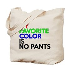 No Pants Tote Bag