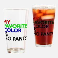 No Pants Drinking Glass