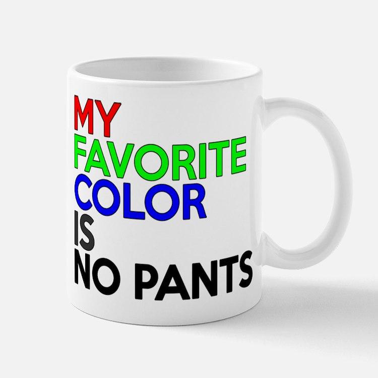 No Pants Mug