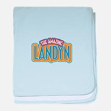 The Amazing Landyn baby blanket