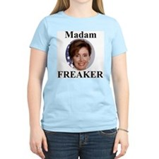 Nancy Pelosi - Madame Freaker Women's Pink T-Shirt